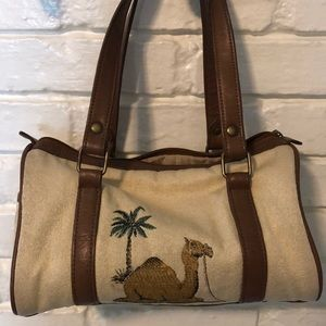 Bag with camel on it